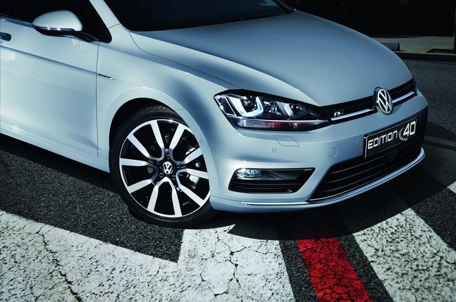 Volkswagen dévoile la Golf EDITION 40