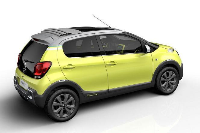 Salon de Paris 2014 - Citroën C1 Urban Ride: l'appel de la série
