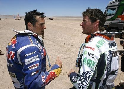 Dakar 2010 : Marc Coma ; 6 heures de pénalité pour avoir changé de pneu pendant la spéciale