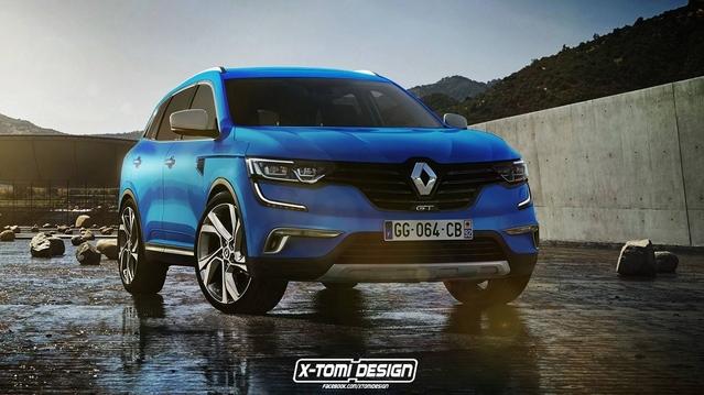 Design : un graphiste imagine le Renault Koleos en version GT