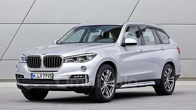 Futur BMW X7 : comme ça ?