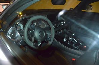 La Mercedes-AMG GT Edition 1 s'échappe