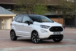 Ford Ecoport 1.0 Ecoboost 125 ch Titanium : 22 200 € (photographié en finition ST Line)