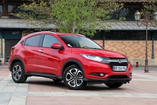 Honda HR-V 130 ch essence Elegance : 22 280 € (photographié en finition Exclusive Navi)