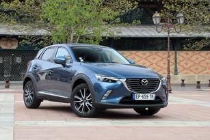 Mazda CX-3 Skyactiv-G 120 ch Elegance : 21 300 € (photographié en finition Signature)