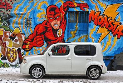 Essai vidéo - Nissan Cube : la boîte à bonheur