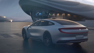 LeEco LeSEE : un concept de Tesla chinoise