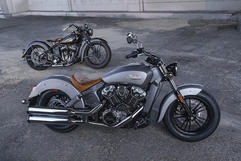 Nouveauté 2015 : la gamme Indian Motorcycle