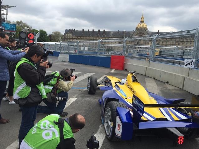 Live e-Prix de Paris - Avant la course (vidéos)