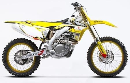 """Suzuki: des RM-Z250 et RM-Z450 RCH """"Limited Edition"""""""