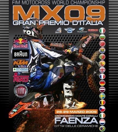 Le MX 2009 ouvre ses portes ce week-end à Faenza