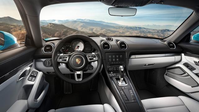 Porsche dévoile le 718 Cayman