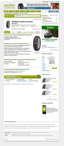 Rezulteo.fr : un pneu beaucoup ...