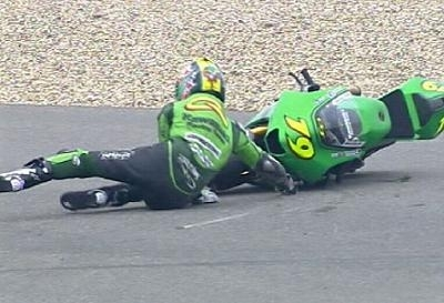 Moto GP: Chine D.1: Coup dur pour Olivier Jacque