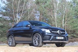 Le véhicule essayé: Mercedes GLE Coupé.