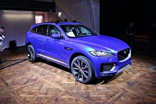 Le véhicule essayé: Jaguar F-Pace.