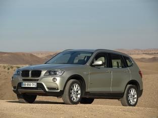 L'alternative en occasion: le BMW X3.