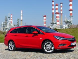 Le véhicule essayé: Opel Astra Sports Tourer.