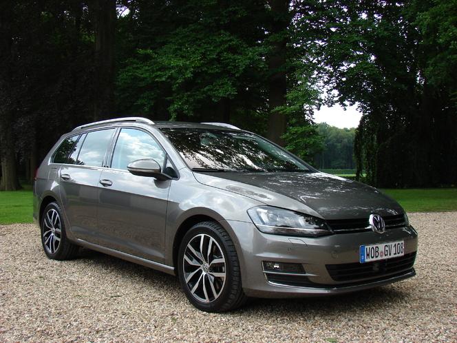 Volkswagen Golf 7 SW : en avant-première, les photos de l'essai