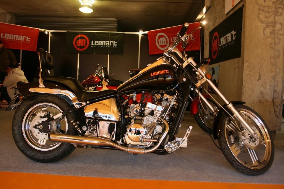 Salon du Deux-Roues Urbain 2009 en direct : Leonarts Motorcycles : Le style chopper à la sauce espagnole