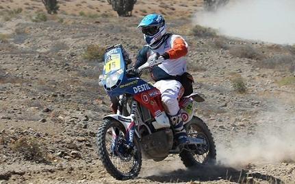 Dakar 2012 : Le point de l'équipe Sherco à Copiapo avec Frans  Verhoeven