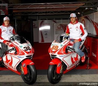 Moto GP - Ducati: Au tour de Pramac de vider son sac