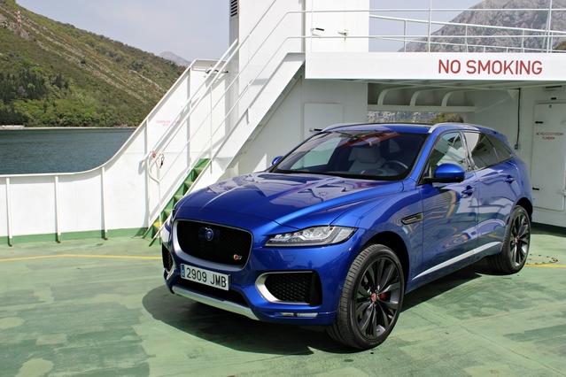 Le Jaguar F-Pace arrive en concession : première