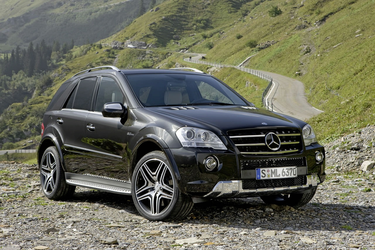 comment se distinguer en mercedes ml63 amg