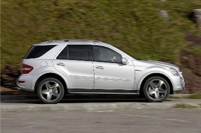 Comment se distinguer en Mercedes ML63 AMG?