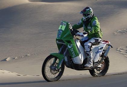 Dakar 2010 : 9ème étape, étape raccourcie, mais que du sable