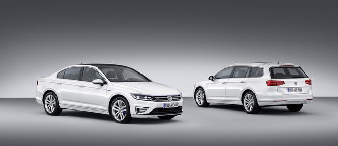Mondial 2014 : Volkswagen dévoile l'hybride rechargeable Passat GTE