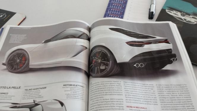 Lamborghini Asterion : vraiment comme ça ?