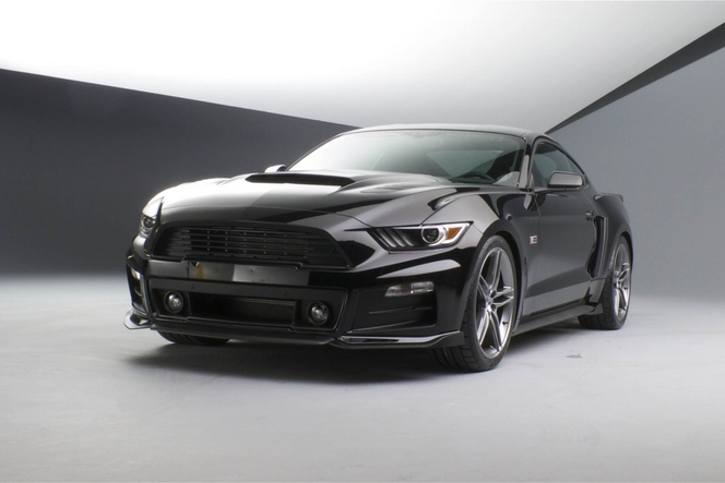 La Ford Mustang revue par Roush s'échappe