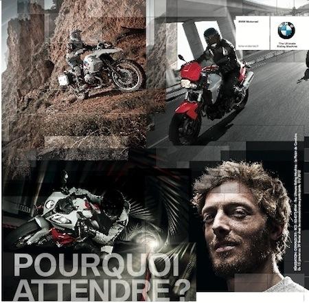 BMW Motorrad: jusqu'à 864 € d'avantages client jusqu'au 28 février 2012