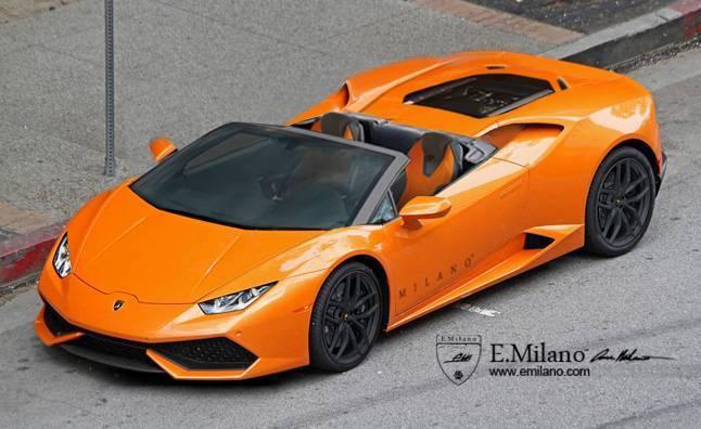 Lamborghini Huracan Spyder : comme ça ?