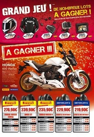 Dafy: une multitude de cadeaux dont une Honda 600 Hornet!