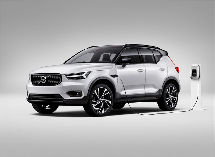 volvo xc40 bient t disponible en hybride rechargeable t5. Black Bedroom Furniture Sets. Home Design Ideas