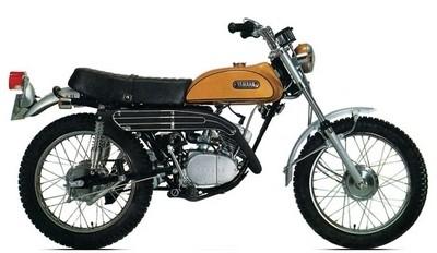 Yamaha 125 AT1 : la 1ère d'une sacrée lignée…