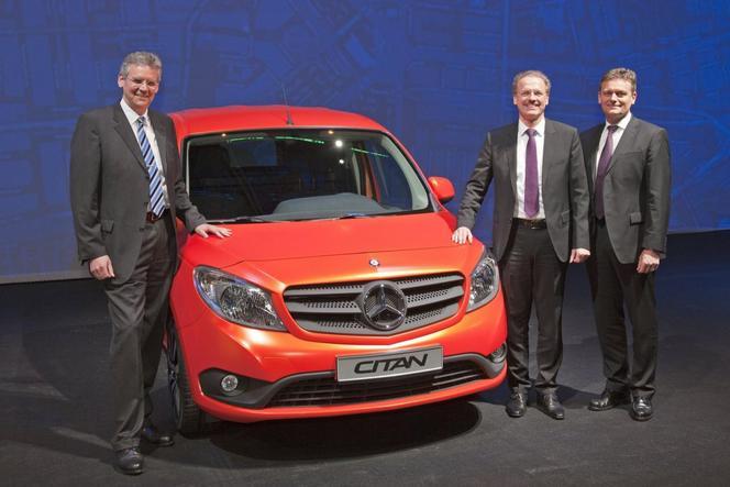 Voici le nouvel utilitaire Mercedes: le Citan