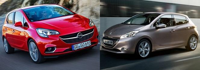 Match du Mondial : Nouvelle Opel Corsa ou Peugeot 208 ?