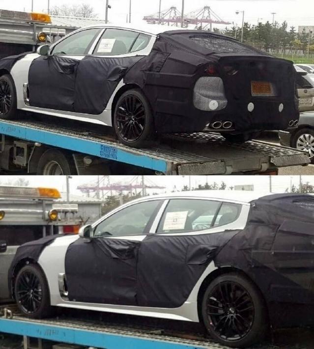 Surprise : la Kia GT se prépare
