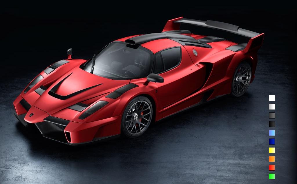 2009 Gemballa Ferrari Enzo Mig U1 Forza Rossa Over