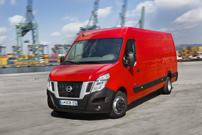 Le Nissan NV400 évolue