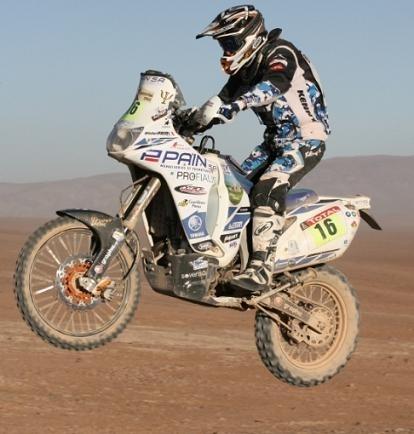 Dakar 2010 :  Olivier Pain est revenu 8ème