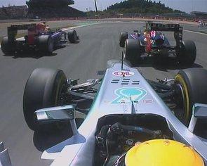 GP d'Allemagne F1 : Vettel contient les Lotus boys
