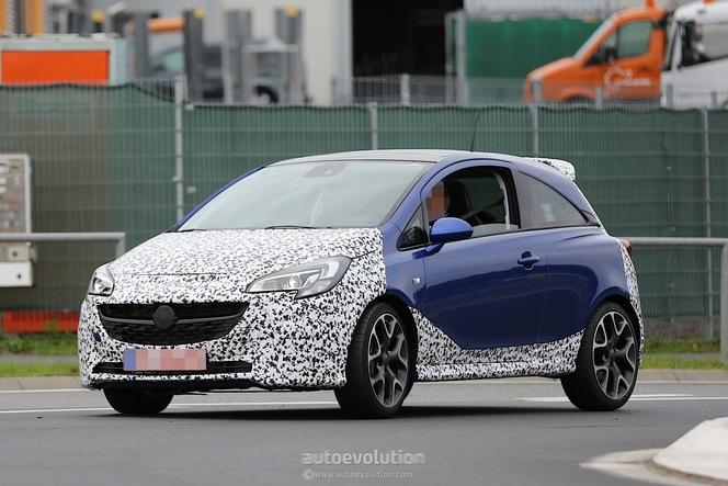 Surprise : l'Opel Corsa OPC se déshabille