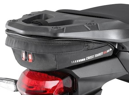 Givi : une bagagerie souple inventive pour gros trails