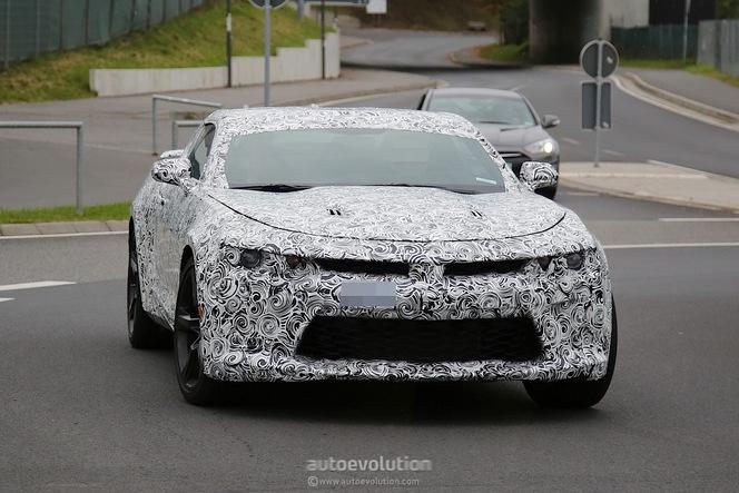 Surprise : la future Chevrolet Camaro sur le Nürburgring