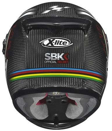 X-lite X-802R Ultra Carbon Superbike: l'intégral officiel du WSBK