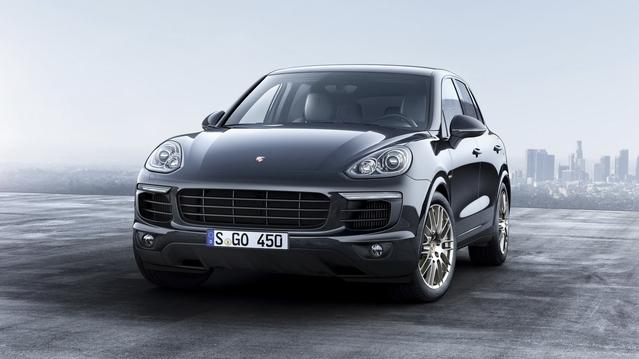 Porsche Cayenne Platinum Edition : des options facturées à prix doux